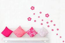 Flowers Wall Stickers Vinyl Art Decals