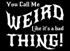 Cosa Rara Camiseta gótico Gótico Emo Funny bueno para ser Raro Para Hombre Corte Bruja Satanás