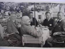 9688 Privat Foto AK Flieger Treffen 1935 Geibel Kahl