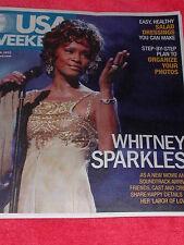 USA WEEKEND JULY 2012 WHITNEY HOUSTON SPARKLES SPARKLE