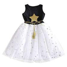 USA Toddler Kids Baby Girls Dress Princess  Pageant Party Birthday Dress O54