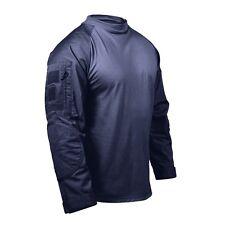 Rothco 90035 Men's Navy Blue Military Combat Shirt