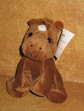 "Funny Farm Beanbag Pony Stuffed Plush Horse 5.5"" NWT Bean Bag Kid's Toy"