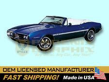 1967 1968 Pontiac Firebird Sprint Decals & Stripes Kit