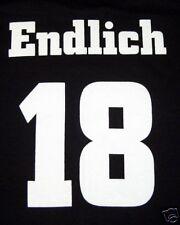 Fun T-Shirt * Endlich 18 schwarz S - XXL