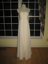 J Crew Whitney Gown Wedding Dress in Silk Chiffon Sz 12 NWT NWoT 11429 $458