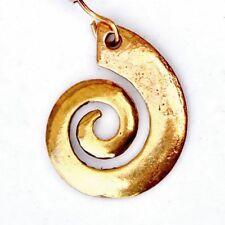 Ohrring Spirale - Bronze / Paar, Keltenschmuck, Wikingerzeit