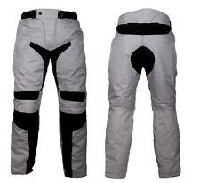 Pantaloni da per moto in cordura con protezioni ginocchia e fianchi uomo o donna