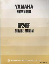 1974 YAMAHA SNOWMOBILE GP246F SERVICE MANUAL