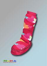 Playshoes Chaussures d'intérieur PANTOUFLE PETIT CŒUR cœur en rouge taille 17