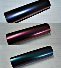 Matt Chameleon Vinyl Wrap (Air/Bubble Free Matte) 3 colours Multi sizes