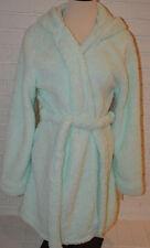 Women's Rue 21 Mint Green Warm Fluffy Plush Sherpa Hooded Robe Sizes S-XL