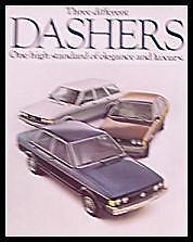1978 Volkswagen VW Dasher Brochure