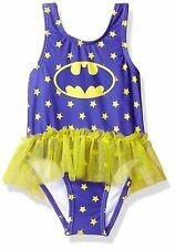 Batgirl Swimsuit Baby Girls Tutu Bathing Suit Infant/Toddler Sizes 12-24 Months