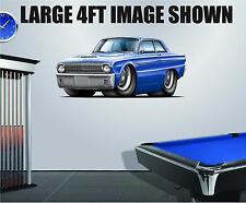 1962 Ford Falcon 260 Wall Art Decal Sticker Graphic Garage Man Cave Decor