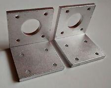 NEMA17 42mm Stepper Motor Bracket - Aluminium  Construction - 3D Printer & CNC