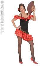 Senorita Flamenco Lady Kleid Fasching 1436v