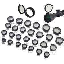 Quick Flip Spring Up Open Lens Cover Through See-thru Riflescope Rifle Scope Cap