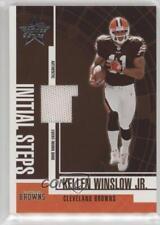 2004 Leaf Rookies & Stars Initial Steps Materials #IS-5 Kellen Winslow Jr Jr.