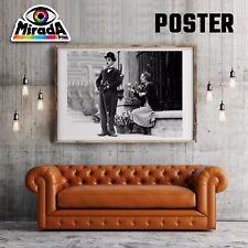 POSTER FILM CINEMA CHARLIE CHAPLIN CARTA FOTOGRAFICA QUALITA' 35x50 50x70 70x100
