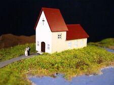 (Z119B) Kirche Spur Scale Gauge Z ( 1:220 ) church