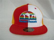 """Denver Nuggets New Era 59Fifty """"Custom"""" NBA Hardwood Classics Fitted Hat"""