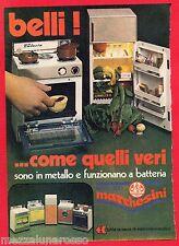 Pubblicità Advertising GIOCATTOLI MARCHESINI 1979