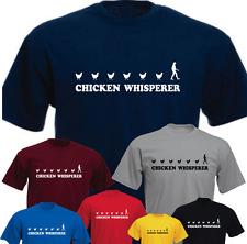 Chicken Whisperer Farmer Farm New Funny T-shirt Present Gift