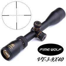 Tactical VT3-9x40 Riflescopes Lens Cover Scope Fits11mm/20mm Rail w/ Mounts New