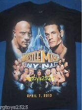 WWE WrestleMania 29 Mens t-shirt Sz S M L XL 2XL Rock Cena CM Punk HHH Event New