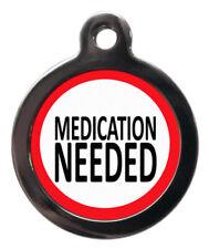 Farmaci necessari per cane gatto Medical informativo Tag Pet tag