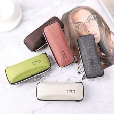 Portable Zipper Glasses Box Eye Glasses Protector Case Sunglasses Eyewear Box A