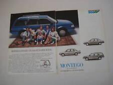 advertising Pubblicità 1985 AUSTIN MONTEGO ESTATE