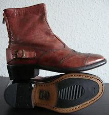 BELSTAFF TRIALMASTER LADY ANTIQUE RED Stiefelette Damen Boots Schuhe Gr.37 NEU