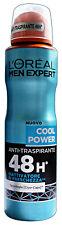 L'OREAL Deodorante Spray Uomo COOL POWER 150 Ml. Deodoranti per il corpo