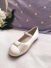 Rainbow Club Kids Girls Jemima flowergirl bridal shoes