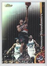 1998-99 Topps Finest Refractor No-Protector 195 Damon Stoudamire Basketball Card
