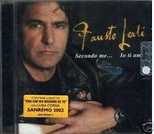 LEALI FAUSTO LUISA CORNA SANREMO 2002 CD SIGILLATO
