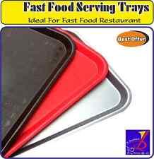 Migliore qualità Fast Food vassoio di servizio IDEALE PER RISTORANTE, BAR, CAFE ALIMENTI BEVANDE