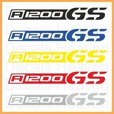 "BMW R1200GS 2pcs Logo ""Beak"" Stickers R 1200 GS Decals M#1"