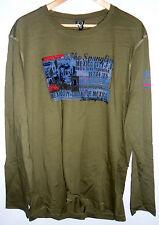 * Maglia maniche lunghe uomo SCORPION BAY T-shirt LS ORG CC 01 cod.MTE2245 olive