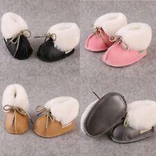 First Walkers Newborn Warm Boots Fleece Fur Wool Baby Shoes