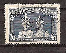 Australia # 179 Used King George Vi & Queen Elizabeth