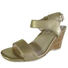 Kenneth Cole Womens Izzy Open Toe Wedge Sandal Shoe