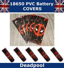 Deadpool 18650 PVC Calor Shrink Wrap Tapas De Batería Calavera de Diversos Estilos