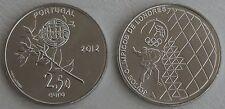 2,5 euro Portugal 2012 juegos olímpicos unz.
