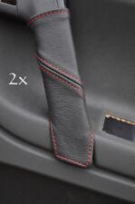Se adapta a Vw Polo Mk5 6n2 98-2001 2x Manija De Puerta cubre Rojo