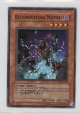 2005 Yu-Gi-Oh! Zombie Madness #SD2-EN012 Regenerating Mummy YuGiOh Card
