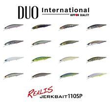 DUO Realis Jerkbait 110SP Suspending Lure - Select Color(s)