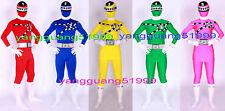 Unisex Super Hero Suit Outfit 5 Color Lycra Superhero Suit Catsuit Costumes F134